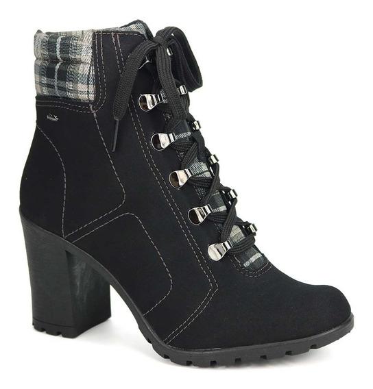 Promoção Bota Ankle Boot Coturno Feminino Dakota G1261