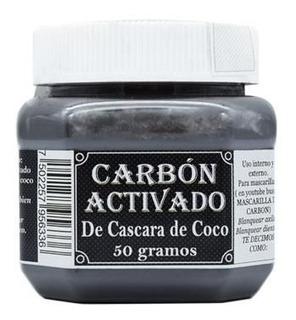 Carbon Activado De Coco 50 G Blanquea Dientes