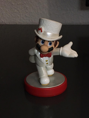 Imagen 1 de 2 de Amiibo Mario Traje Nupcial