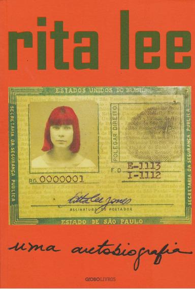Livro Rita Lee Uma Autobiografia Cantora Músicos Rock & Roll