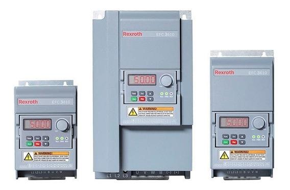 Variador De Frecuencia Rexroth Efc3610 3hp 220v C/ Filtro