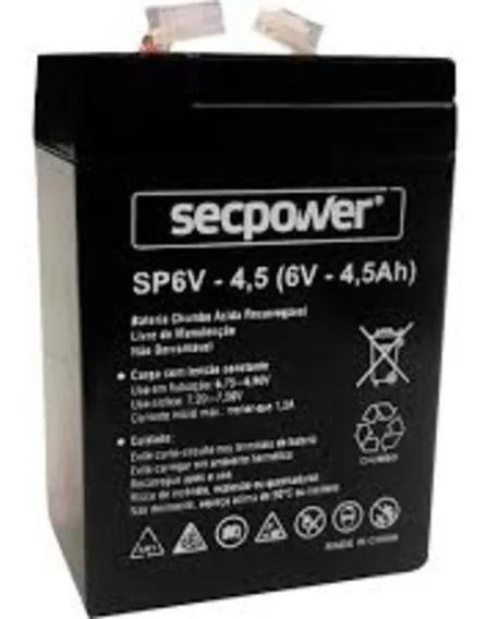 Bateria First Power 6v 4.0ah/20hr Seladas Com Garantia