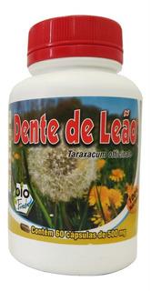 2 Frascos De Dente De Leão 60 Cápsulas 500mg Bio Fresh
