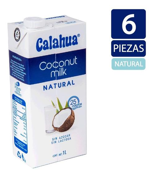 Leche De Coco Calahua 1 Litro - 6 Piezas