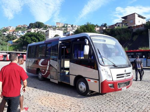 Imagem 1 de 15 de Microonibus Rodoviário Induscar Foz Vwood  (blumenau/sc)