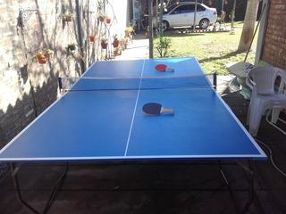 Mesa De Ping Pong Profesional Agm Mach - Plegable C/ Ruedas