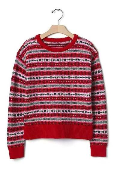 Sweater Gap Niña Importado Usa Talle 12 Y 14 - 6268