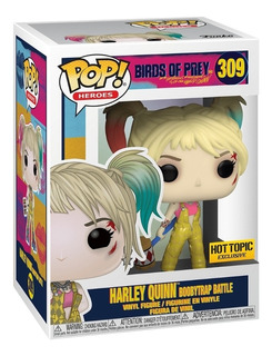 Funko Pop! Harley Quinn #309 Boobytrap Battle Hot Topic