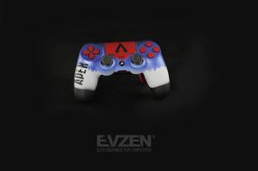 Controle Pro Ps4 Evzen Elite Apex Legends Platinum ,scuf