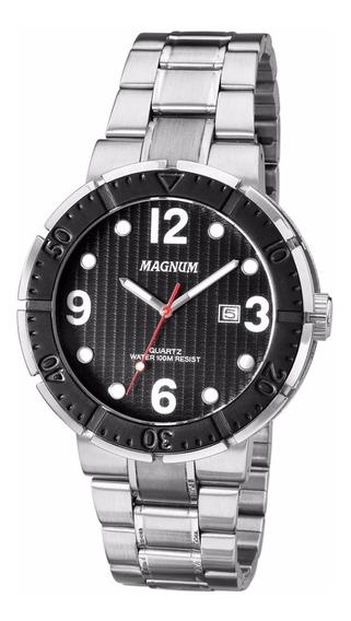 Relógio Magnum Masculino Ma31319t - Rev. Autorizada - Nfe