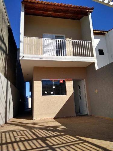 Sobrado Com 3 Dormitórios À Venda, 122 M² Por R$ 440.000,00 - Jardim Bela Vista - Guarulhos/sp - So0290