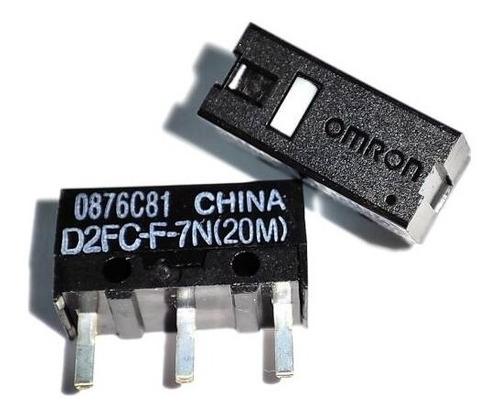 Imagen 1 de 4 de Switch Omron D2fc-f-7n(20m)  Mouse Logitech Asus Alienware