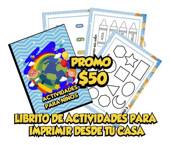 Librito De Actividades Imprimible Para Chicos