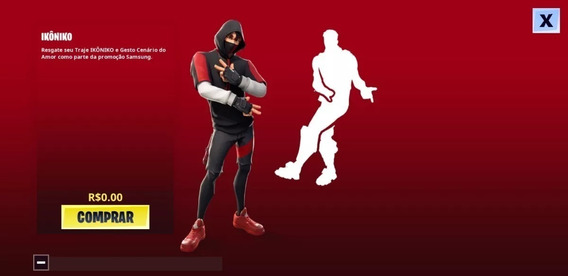 Fortnite: Ikonik Skin - Galaxy S10