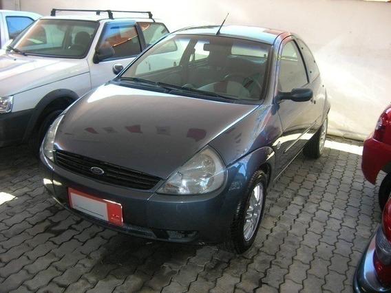 Ford Ka 1.0 Mpi Gl Cinza 8v Gasolina 2p