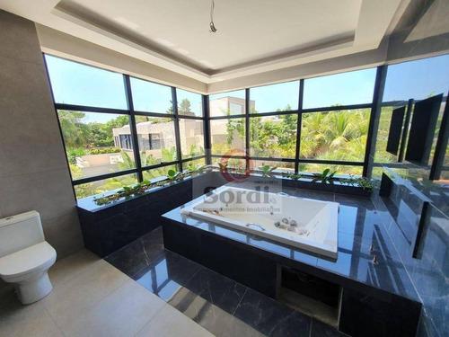 Sobrado Com 4 Suítes À Venda, 500 M² Por R$ 4.200.000 - Vila Do Golf - Ribeirão Preto/sp - So0544