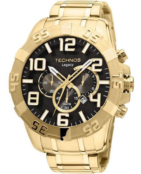 Relógio Technos Masculino Clássico Legacy Dourado Os20im/4p