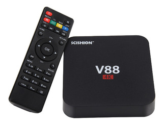 Tv Box Android Convertidor Smart Tv Mini Tv Combo Control 4k