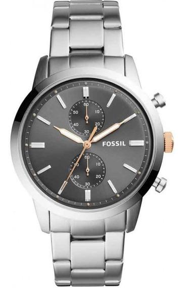 Relógio Fossil Masculino Casual Townsman Fs5407/1cn
