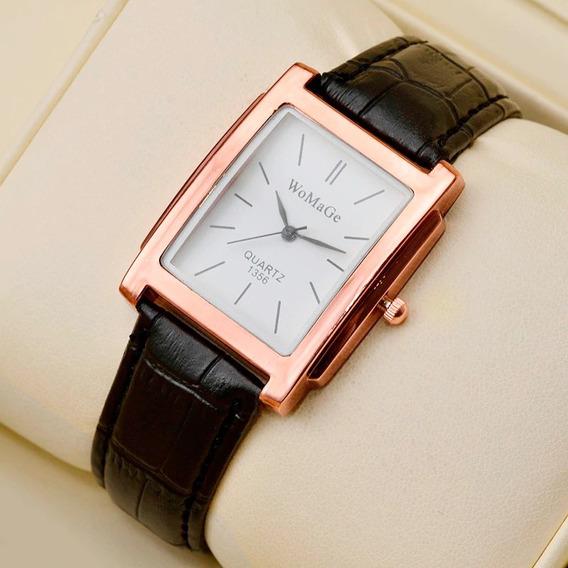 Relógio Feminino Original Couro Prova D