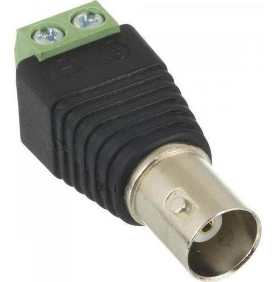 Conector Plug Bnc Fêmea Com Borne - Storm