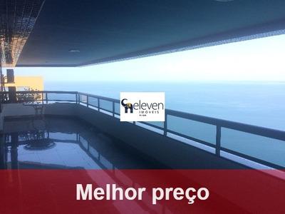 Apartamento Para Venda No Corredor Da Vitória, Salvador 4 Suítes, 4 Vagas, Vista Baía De Todos Os Santos, 340 M². - Ap00493 - 32217602