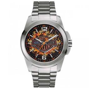 Relógio Masculino Bulova Harley Davdson Analógico Wh30528t