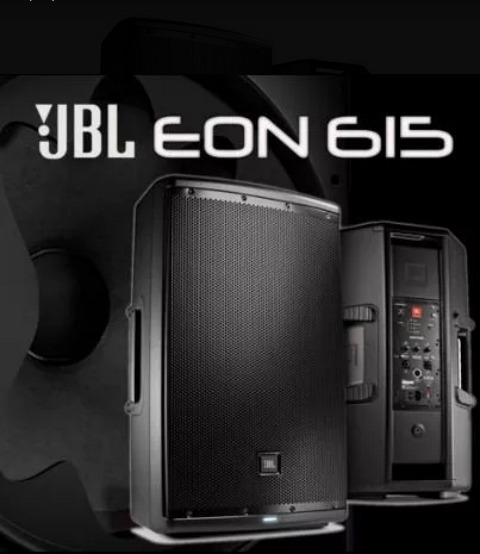 Corneta Amplificada Marca Jbl Eon 615.. Original Profesional