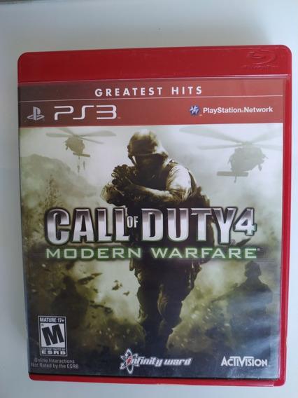 Call Of Duty 4 Modern Warfare Ps3 Original Física