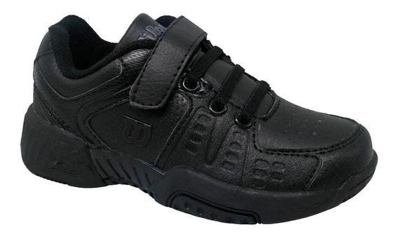 Zapatillas Wilson Jr B2s Negro