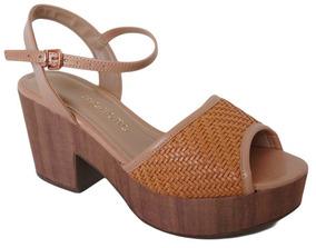 3559e3c0b8 Sandalia Mariotta Marrom - Sapatos no Mercado Livre Brasil