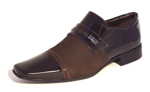 Sapato Masculino Casual Jota Pe Air Fergus Em Couro 73279