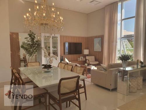 Imob02- Casa Com 3 Dormitórios À Venda, 190 M² Por R$ 1.490.000 - Jardim Esplanada - Indaiatuba/sp - Ca0772