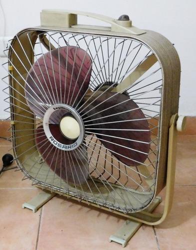 Antiguo Turbo Ventilador Rosario Para Reparar O Repuestos