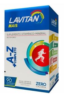 Lavitan Mais A-z Zero Calorias 90 Comprimidos Revestidos
