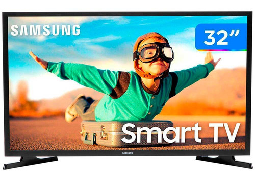 Imagem 1 de 3 de Smarttv 32t4300 Tizen Led 32 Polegadas Hdr Samsung