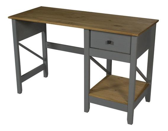 Mesa De Estudo Trabalho Escrivaninha Madeira Maciça Design