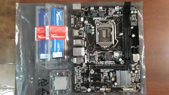 Kit Cpu I7 4770 + H81mh + 2x4gb Memoria Ram Ddr3 1600mhz