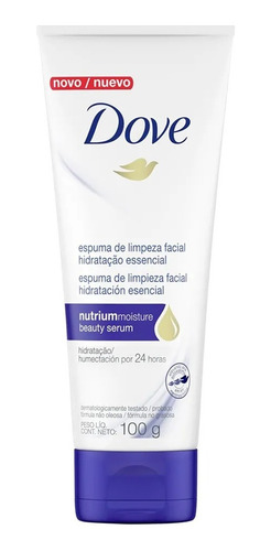 Espuma Facial Dove Hidratanción Esencial 100g