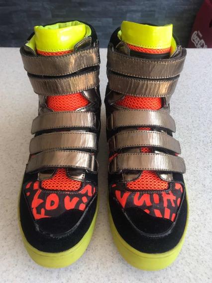 Preciosos Tenis Sneakers Louis Vuitton 100% Originales