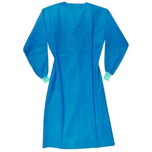 Bata Para Cirujano Curamex Azul (paquete C/200 Pzas)