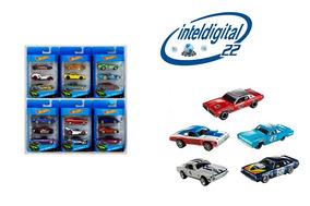 Set De Carritos Hot Wheels Pack X 3 Carros Variados