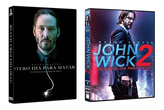 Otro Dia Para Matar / Jhon Wick 2 Keanu Reeves Peliculas Dvd