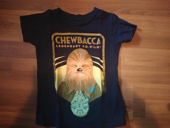 Playera Star Wars 6 Años Chewbacca