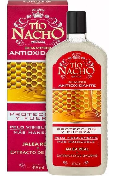 Tío Nacho Antioxidante Shampoo Protección Y Fuerza 415ml