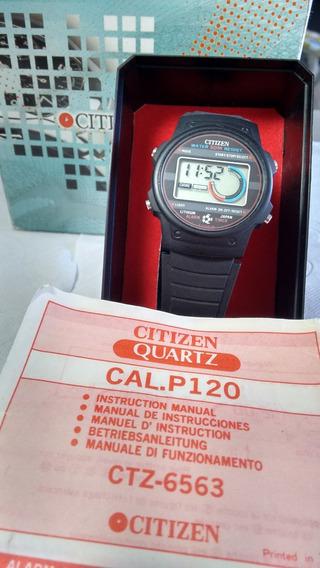 Citizen P120 Football Com Manual - Raro Liquidação Janeiro