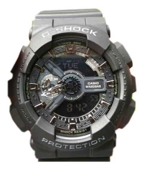 Reloj Casio G-shock Negro Dorado, Deportivo, Nuevo,