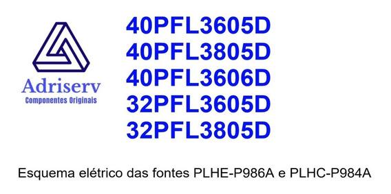 Esquema Elétrico 40pfl3605d