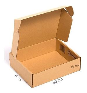 20 Cajas Troquelada Automontable Microcorrugado 20x30x10