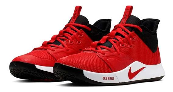 Tênis Nike Paul George Pg3 University Red